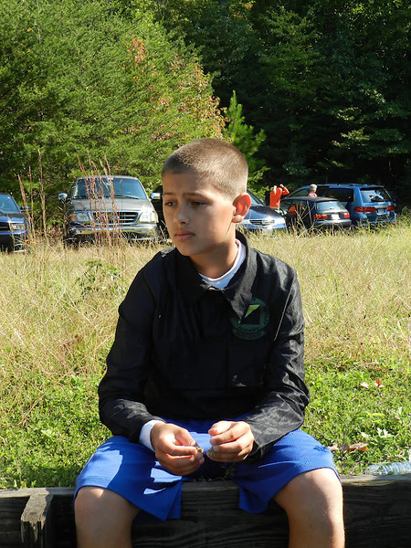Orienteering Meet--Lorton, VA 9/30/12
