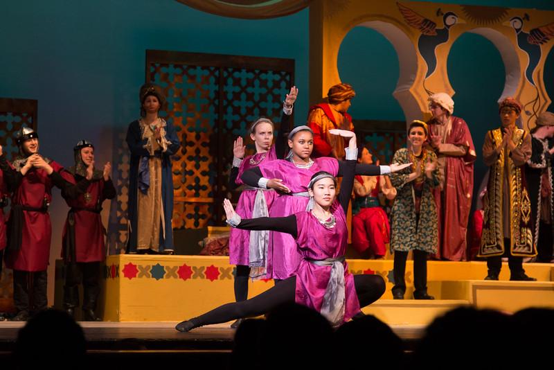 The Princesses of Abbabu -- Kismet, Montgomery Blair High School spring musical, April 15, 2016 performance (Silver Spring, MD)