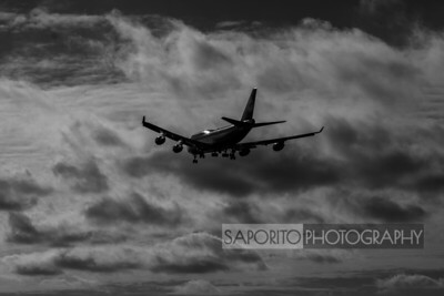 Aviation - Black and White