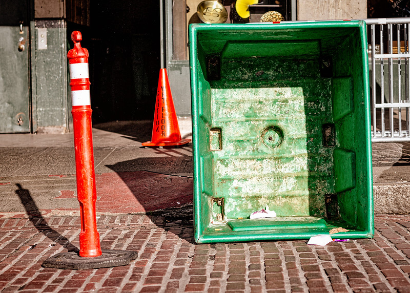 Empty Green Container