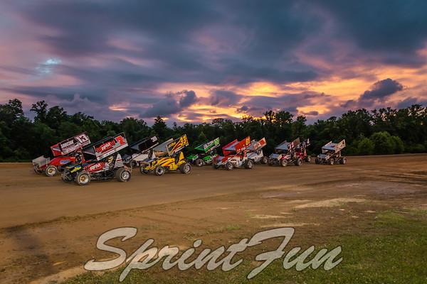 Muskingum County OH Speedweek 6-22-17