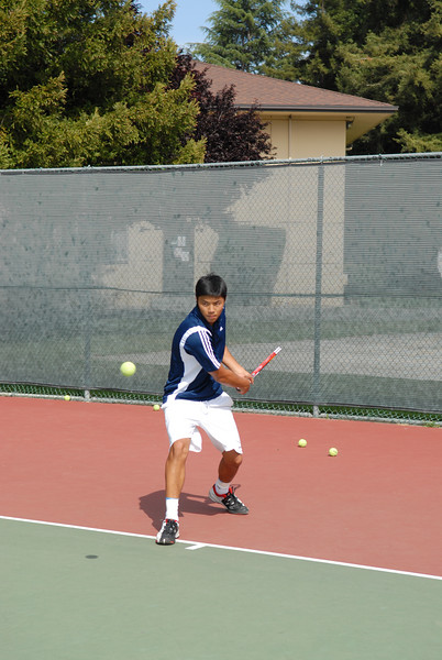 2007 - Menlo Boys Tennis - Senior - Eric