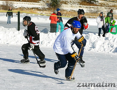 2017 Evergreen Lake Pond Hockey Tournament