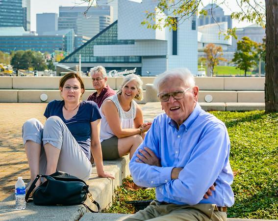 Burnett visit 2017-Cleveland waterfront tour