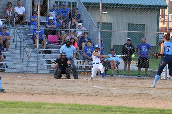 WL softball versus Unity Christian: Class 2A Region 1 softball tournaments 7-2-18