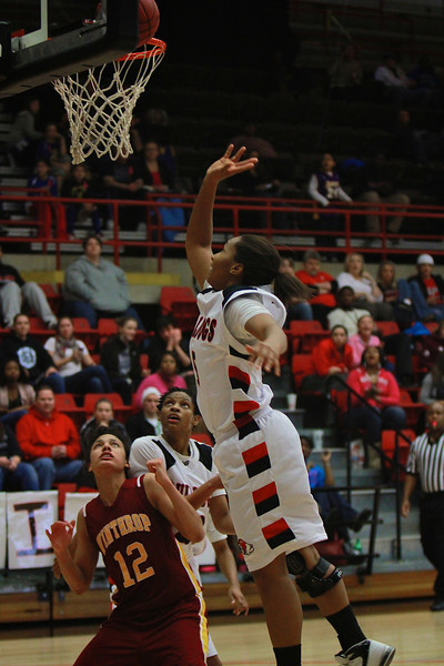 Women's Basketball v Winthrop, Feb 11, 2012.