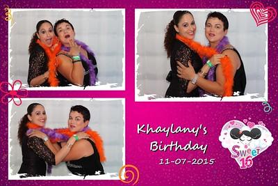 Khaylany's Sweet 16