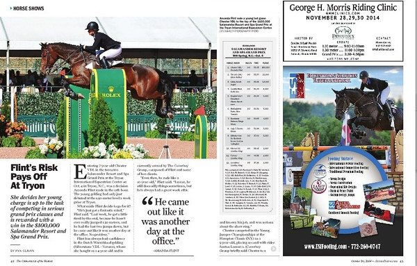 Chronicle of the Horse October 20, 2014