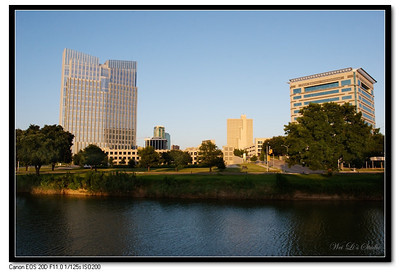 Fort Worth Downtown and Watergarden