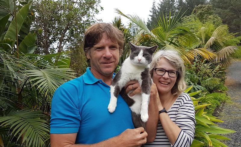 Meine Gastfamilie in Neuseeland: Tom, Frankie und Gaby