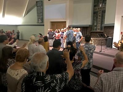 Prayer Team Commissioning