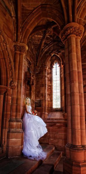 Chrichton Church Dumfries Wedding