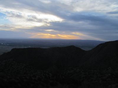Sandia Mtns. - Peak 7,020 Hike  5-6-14