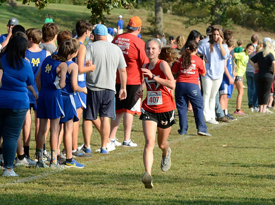 Houston cross country at Willow Springs meet