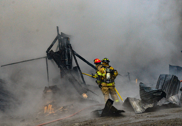 Two-alarm fire in Putney - 032020