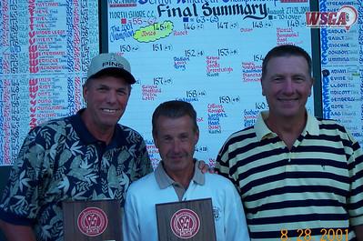 2001 Senior Amateur Championship