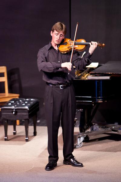Sundays at Four May 17,2009   David McCarroll,violin    Roy Bogas,piano