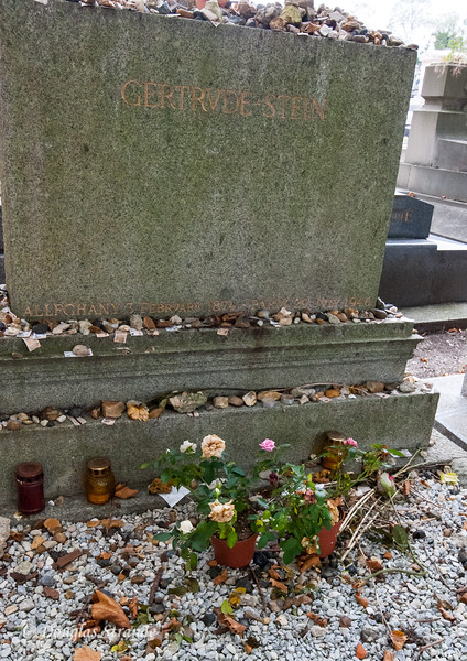 Pere Lachaise cemetary: Gertrude Stein