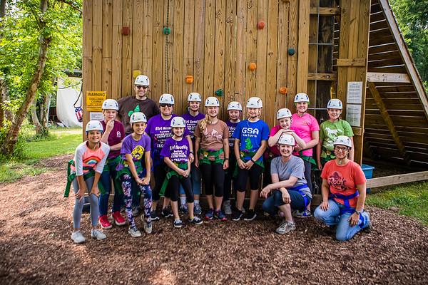 Girl Scouts Zipline 2019