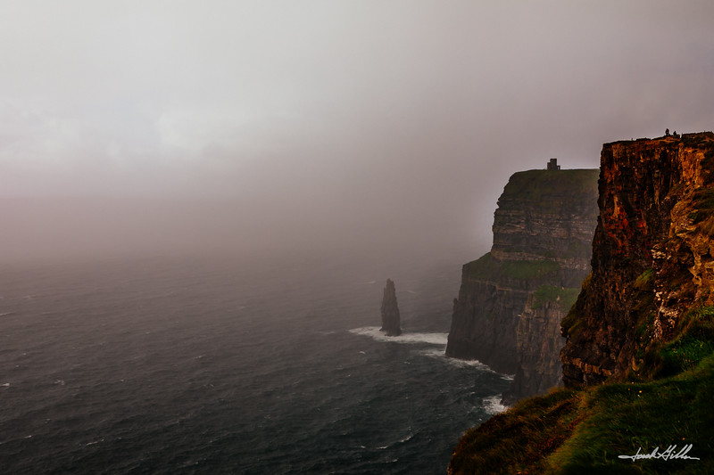 Mist on the Cliffs of Moher