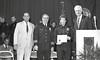 IPD Graduation, April 28, 1988, Img. 22, with Mayor Hudnut, Richard I. Blankenbaker, Paul A. Annee