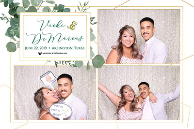 Vicki & DeMarcus Wedding - June 22, 2019