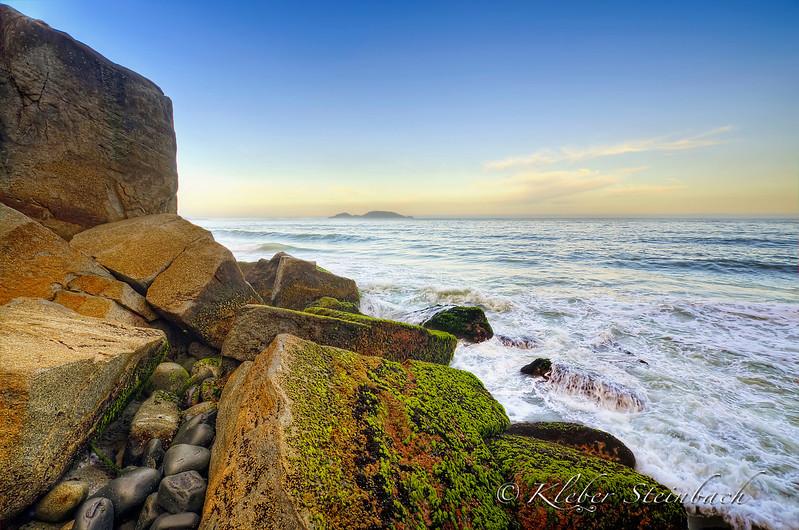 Praia do Morro das Pedras, Florianópolis, Brasil