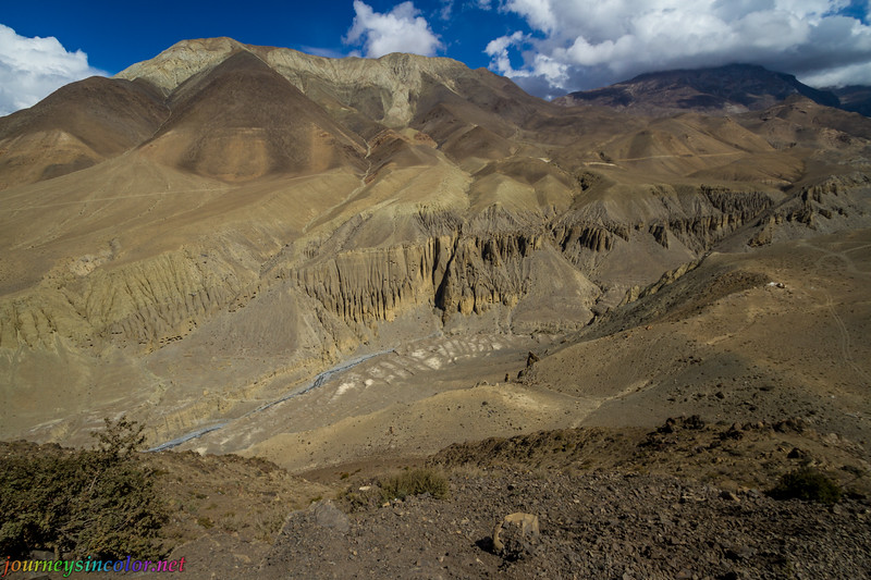 Canyon in Upper Mustang, Nepal