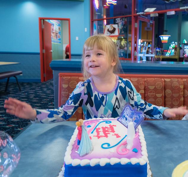 Makenzie's 4th  Birthday Party, November 2016
