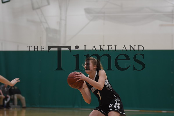 Girls' Basketball at Rhinelander 1/25/19