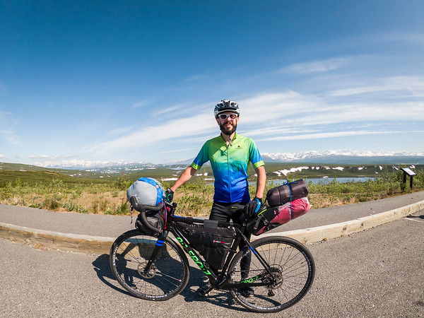 Cycling Denali Highway