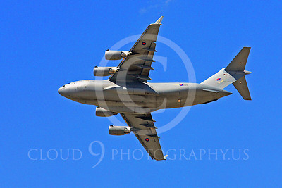 British RAF  Boeing C-17 Globemaster III Military Airplane Pictures