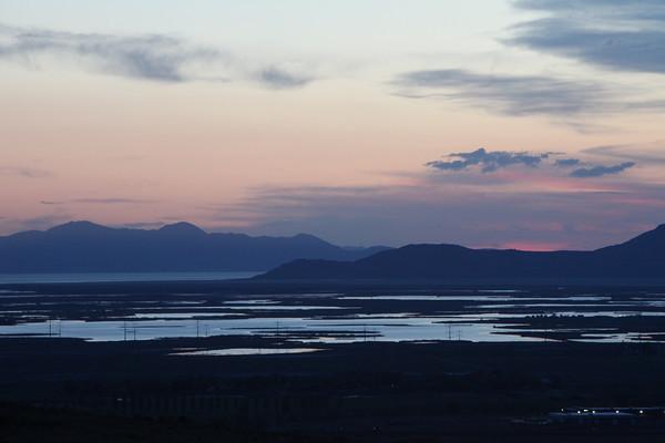 North Salt Lake Sunset - May 2013