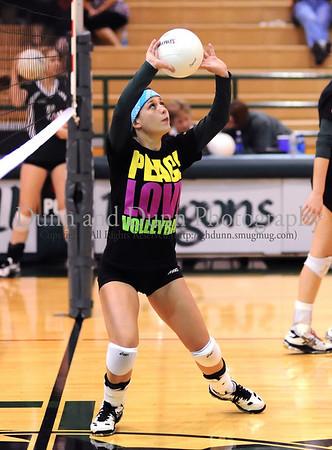 2008-09-09 SL Carroll v Allen - Varsity Volleyball