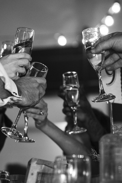 Toasting the Couple