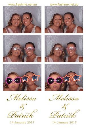 Melissa & Patrick's Wedding - 14 January 2017