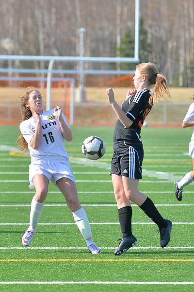 South High School Girls Soccer - 04/30/14