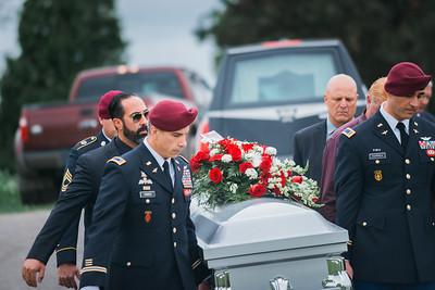 Alex Torres Burial Images