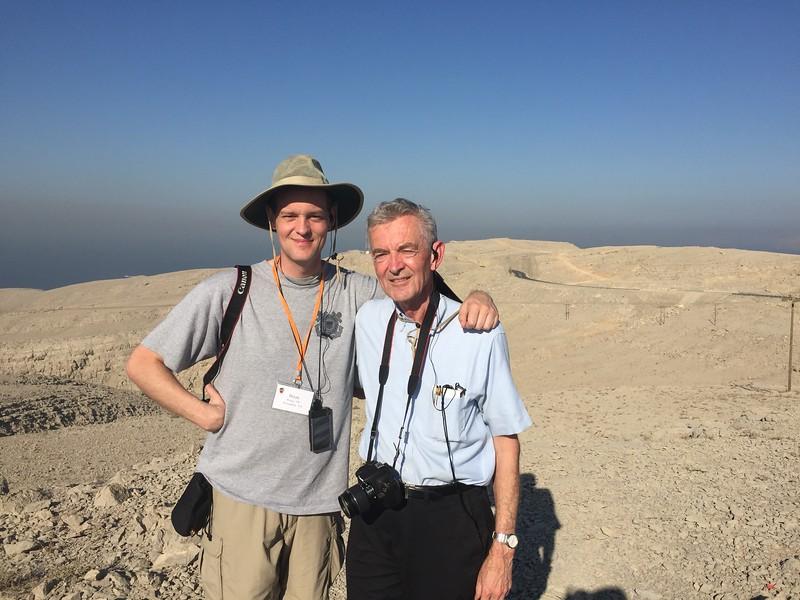 Brian and Joe on Oman's Musandam Peninsula - Bridget St. Clair