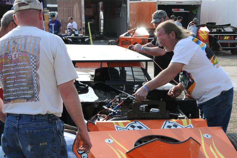 Eldora Dirt Track Racing 04-30-2011