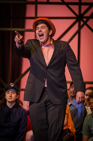 Guys and Dolls Dress Rehearsal - Monday