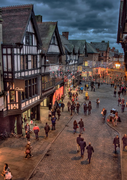 Boxing day Shopping in Chester