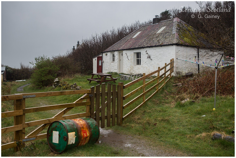 the old smithy, above Eigg harbour