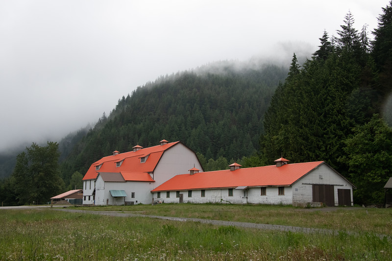 Tashme, a Japanese-Canadian internment site, part of Sunshine Valley