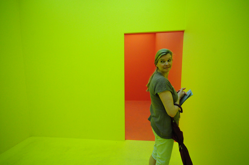 Cildo Meireles Pling Pling. 2009 Installation