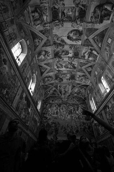 Shhh... Its The Sistine Chapel Ceiling!
