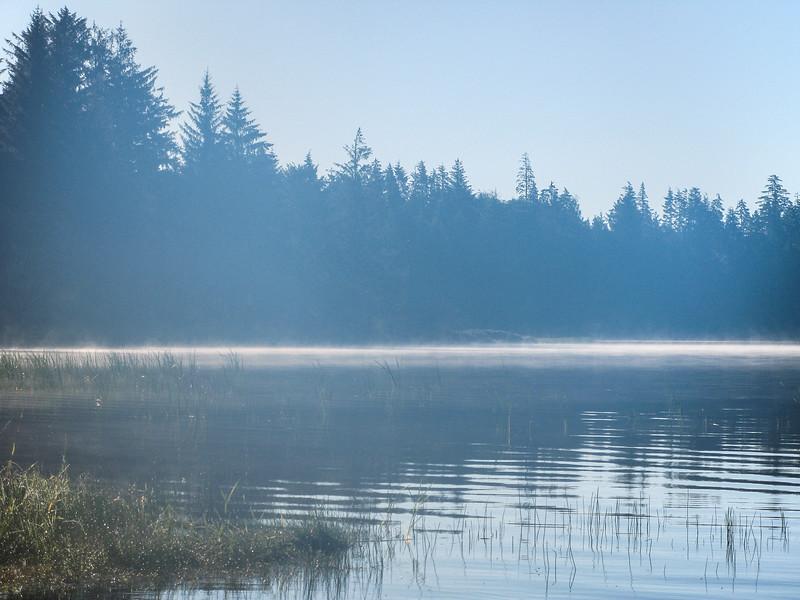 Lake Ozette Morning Fog