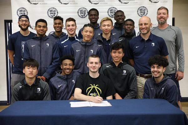 NCAA Signing 4/11/2018