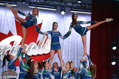 CheerStrike Royals  Sovereignty - Canadian Finals Level 2