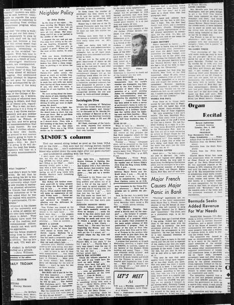 Daily Trojan, Vol. 34, No. 54, December 07, 1942